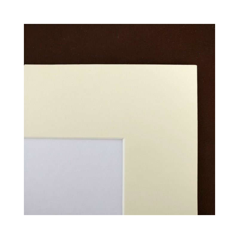 cream mount board