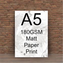 A3 190gsm satin print service
