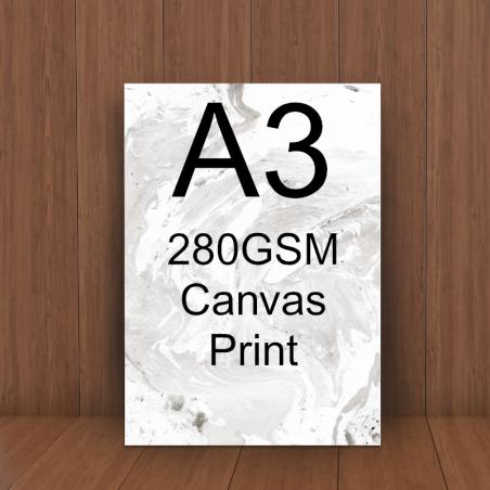 A2 280gsm canvas print service